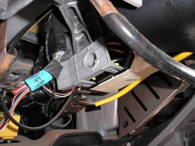 Xlarge Ford Ranger Gray Ignition Harness Cover on Ford Ranger Wiring Harness