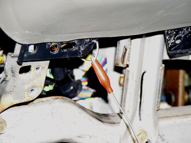 Gain Access To The Under Dash Wiring And The Parking Light Assembly